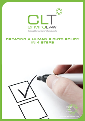 creating a human rights policy