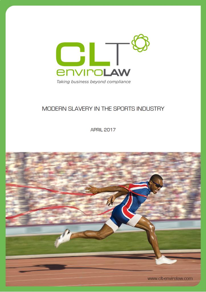 Modern Slavery In Sports