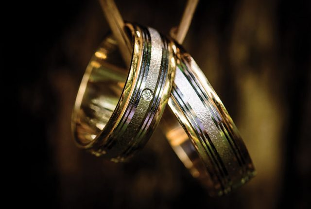 Gold ring - for the report All that glitters is not gold: Shining a light on supply chain disclosure in the jewellery sector. Has the Modern Slavery Act had an impact?