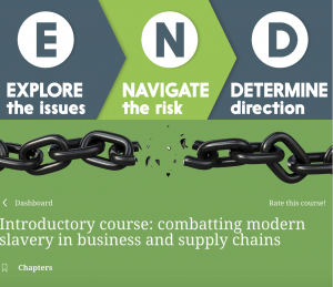 supply chains, modern slavery, elearning, modernslavery act