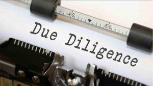 Mandatory Due Diligence