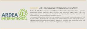 News summary- Ardea