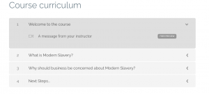 Picture of free demo:Modern slavery e-learning