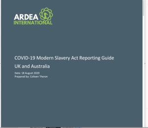 COVID-19 Ardea checklist