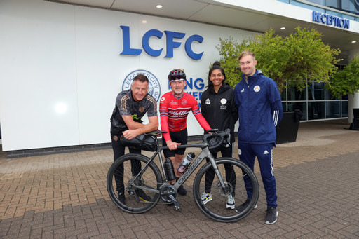 Ride for Freedom team at Leicester